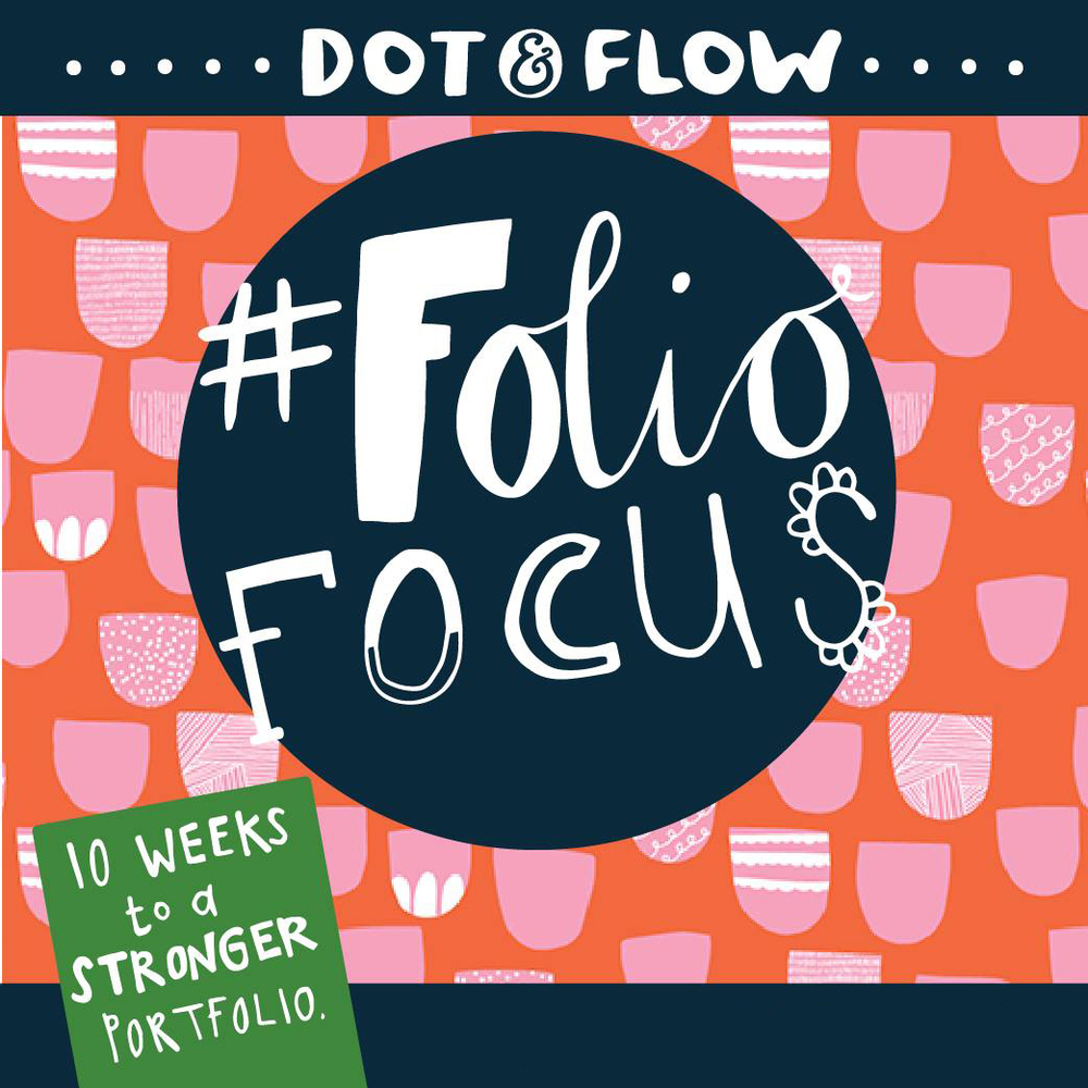 Join me over on Dot & Flow's Website for a new design prompt & inspiration each week