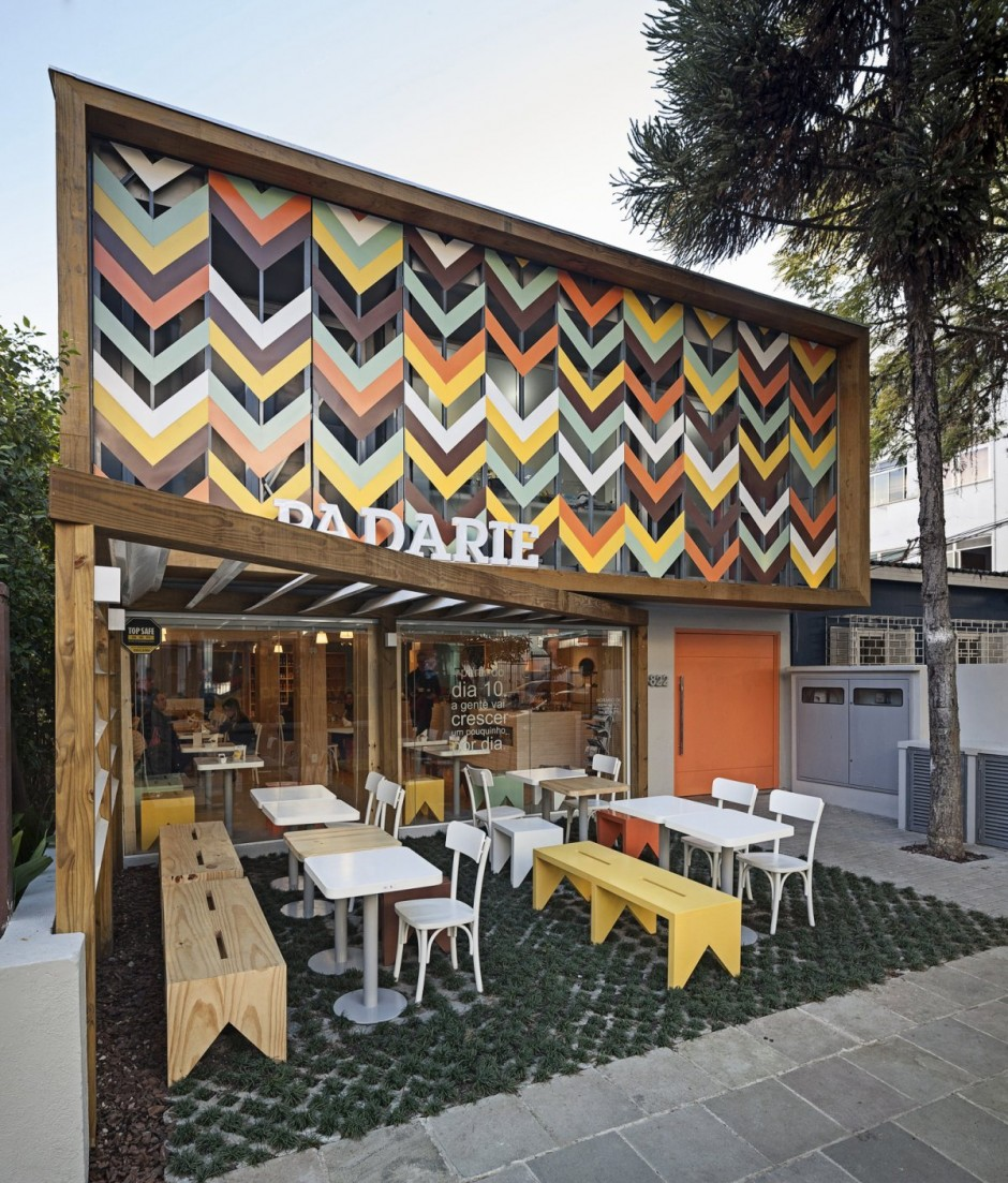 Came Across This Lovely Exciting And Fresh Cafe Bakery Based In Porto Alegre Brazil Is A Truly Contemporary Interior Design But With Few More