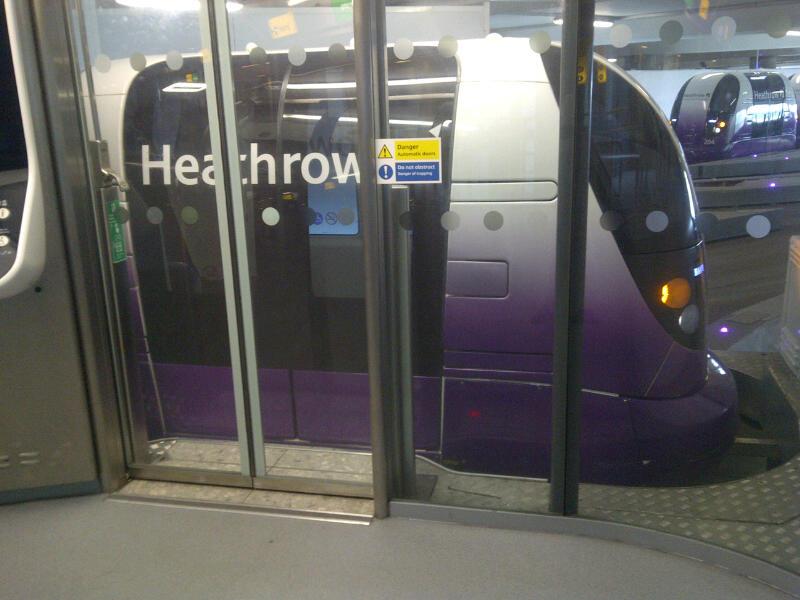 Heathrow T5 Pod Customer Experience