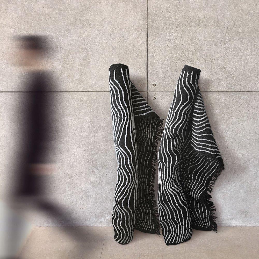 """THE SILENT LAND"" carpet design by Iiro A. Ahokas"