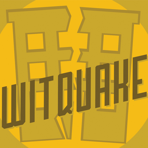 witquake  WitQuake is the first of it's kind in Kansas City, a Milkshake Wit! We took a wheat beer base and added lactose, fermented it with Belgian yeast and dry hopped it with an insane amount of real banana and vanilla bean! Drink with or without a straw!   5.5%