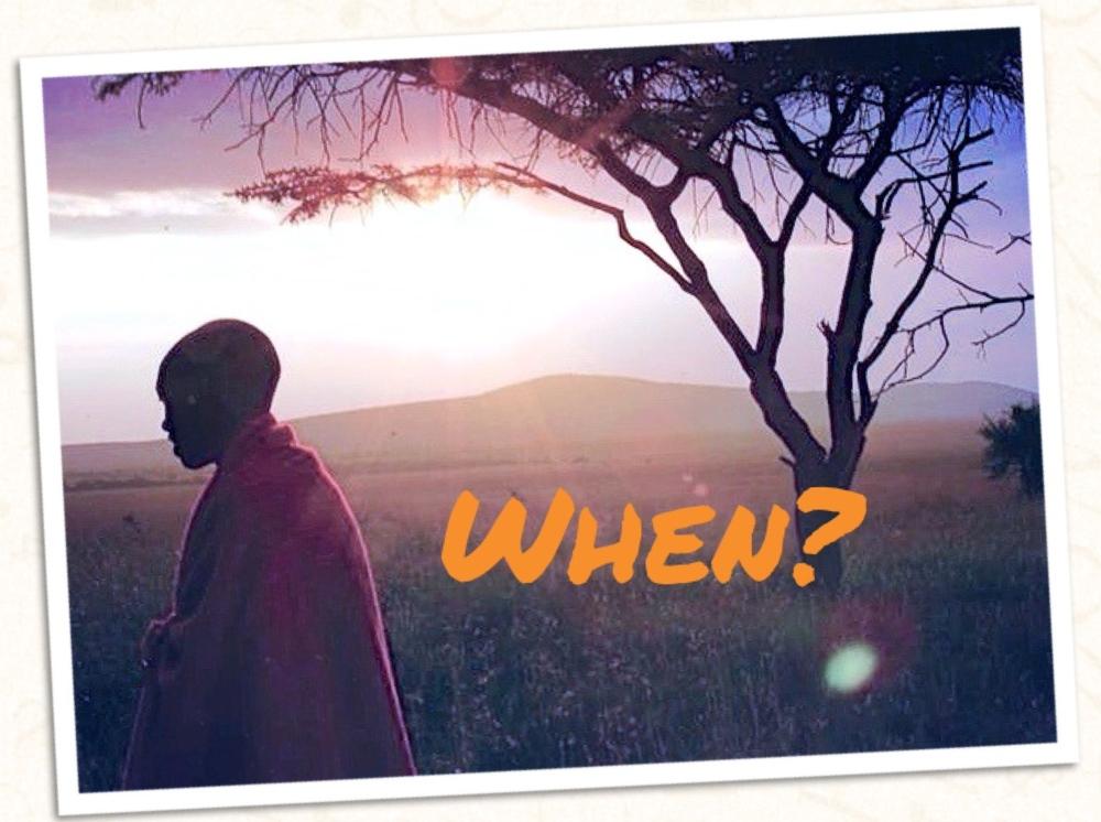 \when