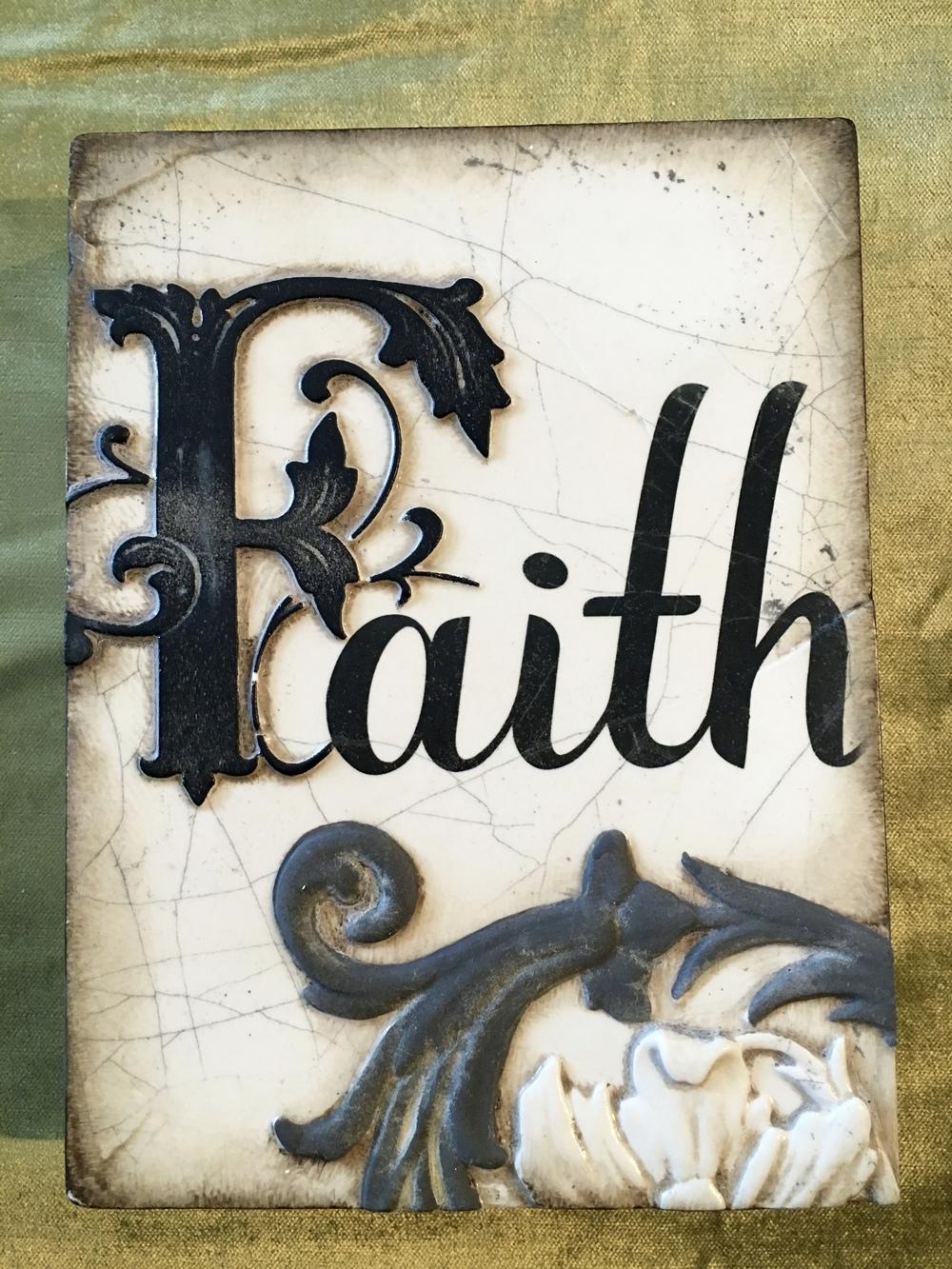 """""""Faith"""""""