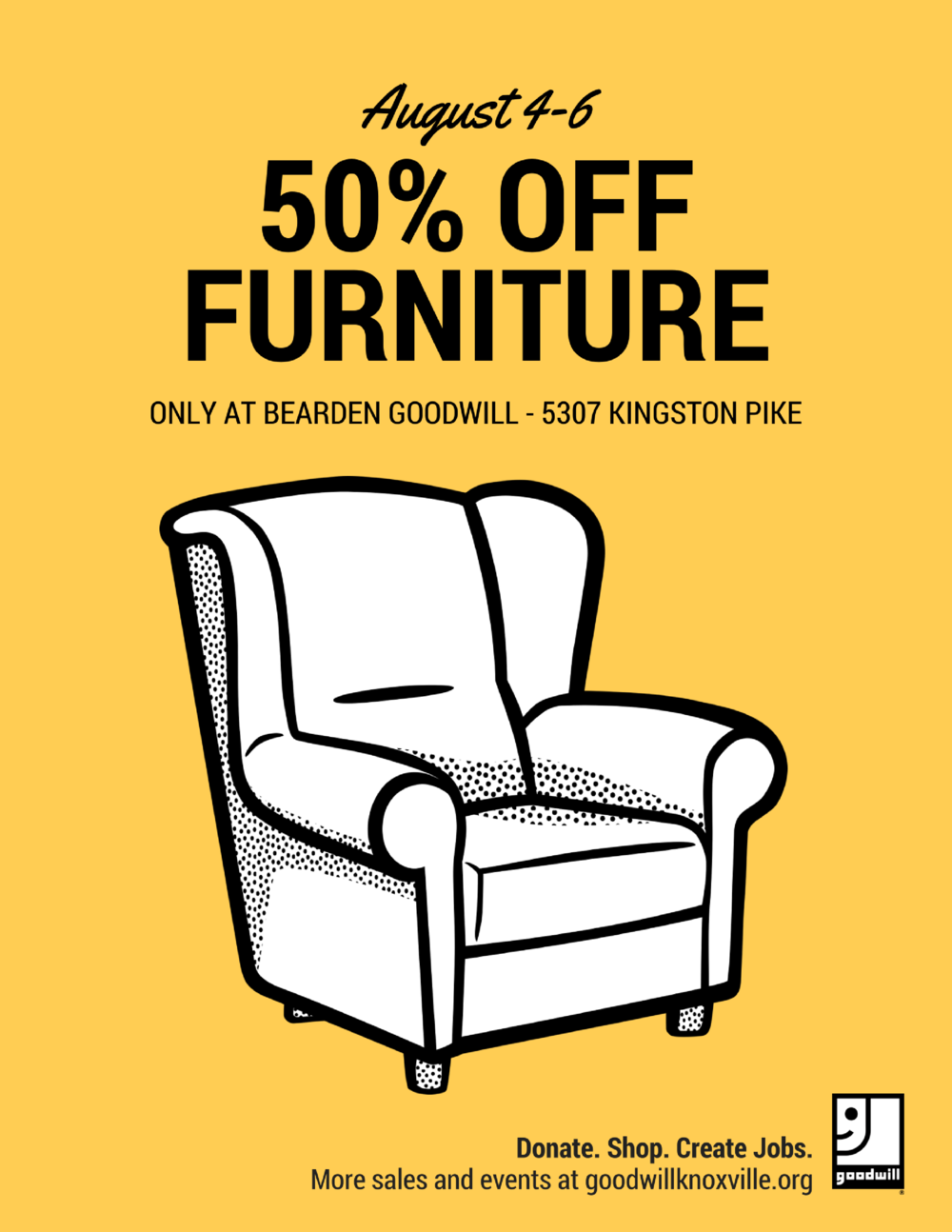 50% Off Furniture At Bearden