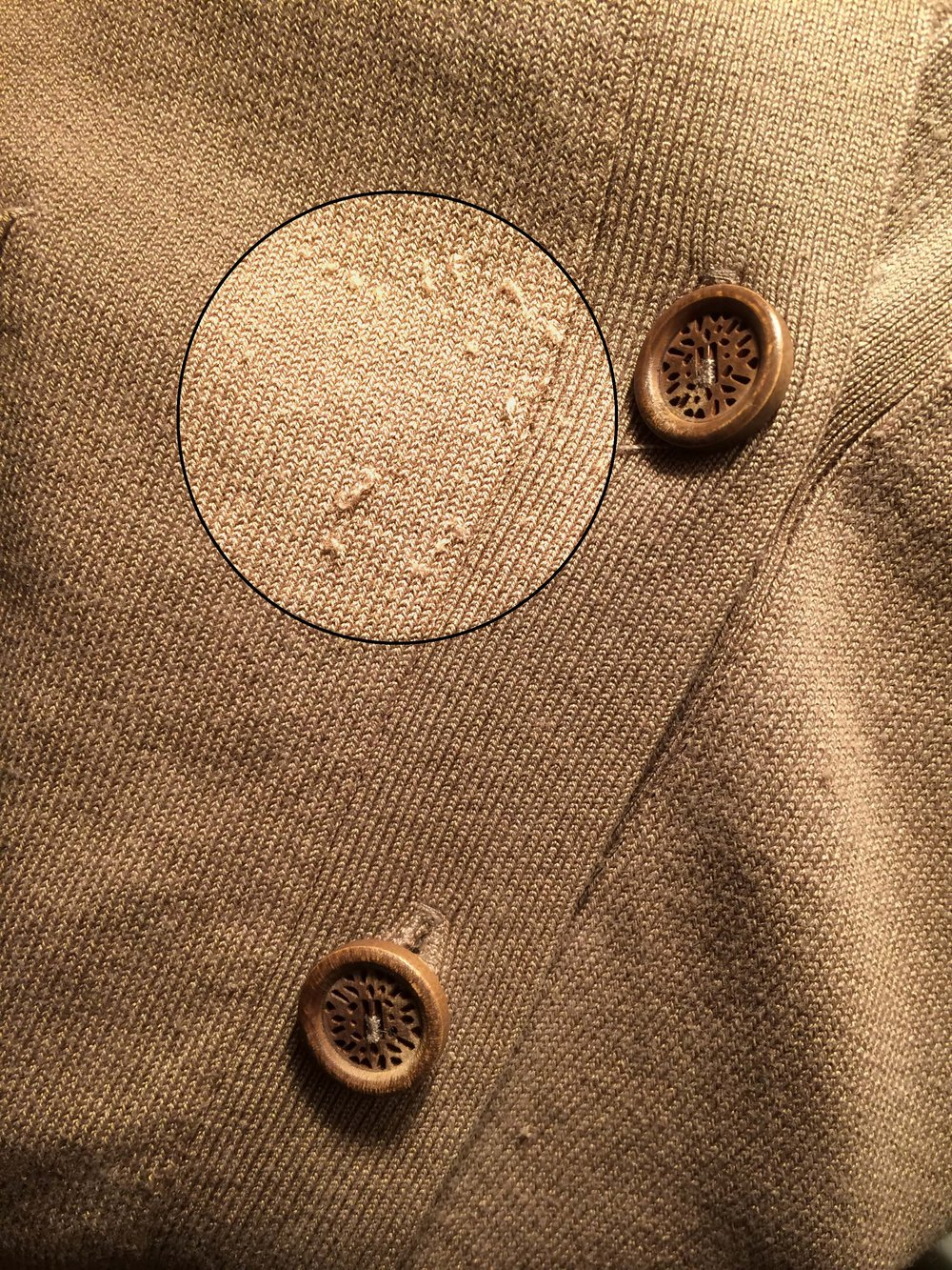 Ripping my favorite cardigan made me realize my attachment to this item.