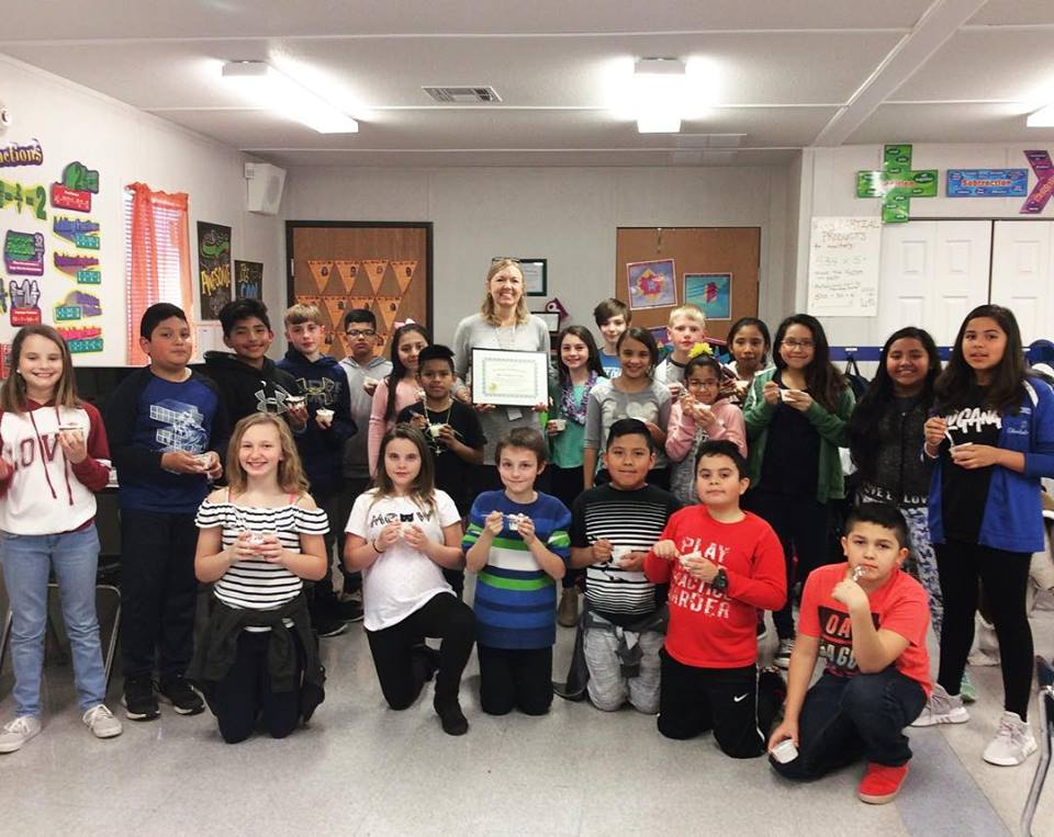 Ms. Cameron's 5th Grade Class - Top Donors 2018 Sack Pack.jpg