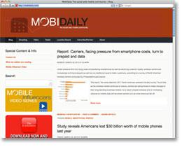 MobiDaily Blog