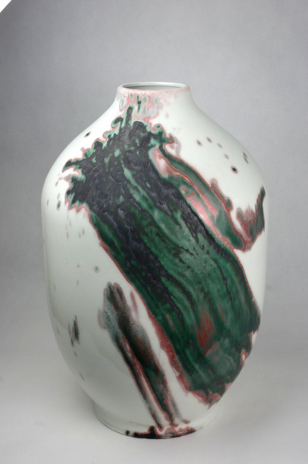 Large Vase / Copper oxide