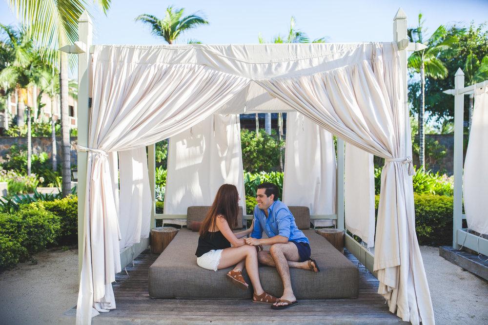 Honeymoon in St Regis. Photos by Irwin Nursoo