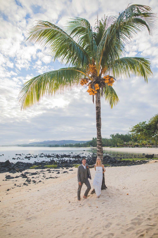Wedding Coconut Tree in Mauritius
