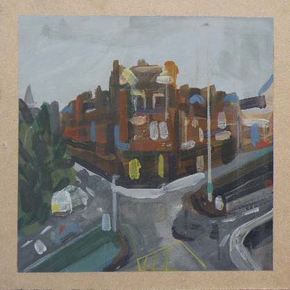 St George's Mansions - Acrylic on Board (26.05cm Square).JPG