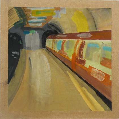 Subway - Acrylic on Board (26.05cm Square).JPG