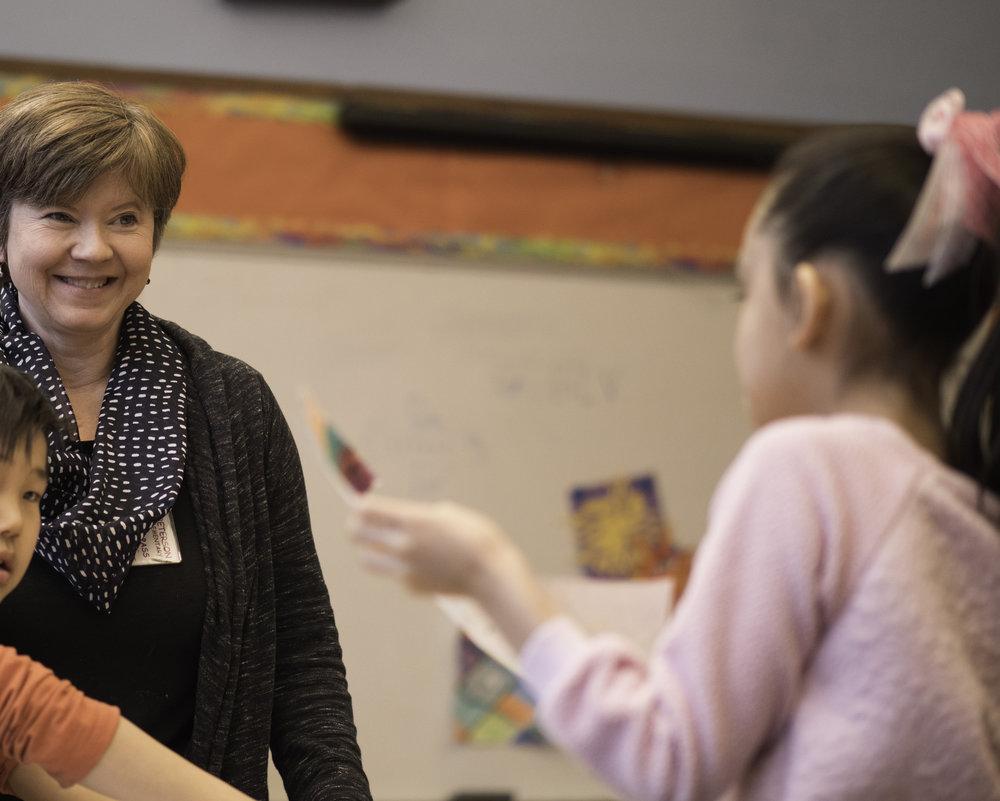 Art Teacher, Judy Edstrom
