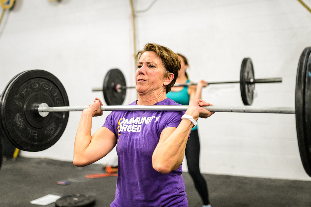 Our very own Ginny is sitting in 18th place in the world right now!  Four more workouts to go.