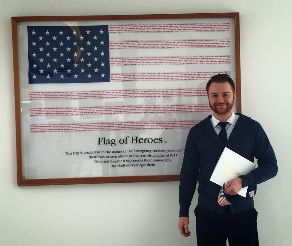 Congrats to Adnan (a diehard 6amer on officially becoming an American citizen today! USA - USA - USA