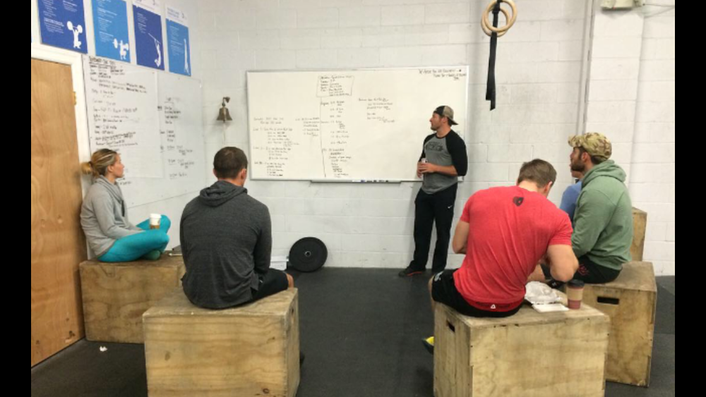 Keith and the coaches reviewed the next programming cycle today. Mission muscle up will be in full effect. The new cycle starts in three weeks, more info to come.