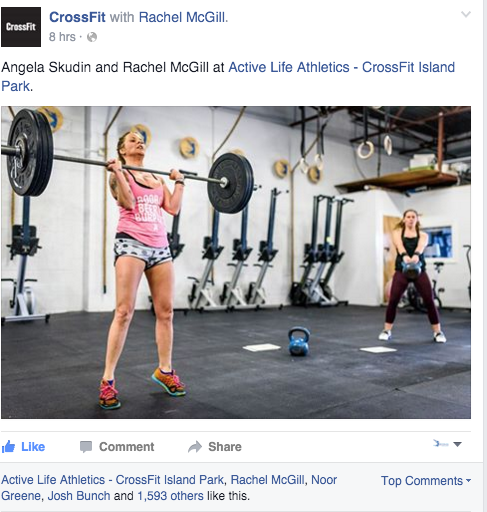 Two weeks in a row our gym has been spotlighted in front of millions on CrossFit.com!
