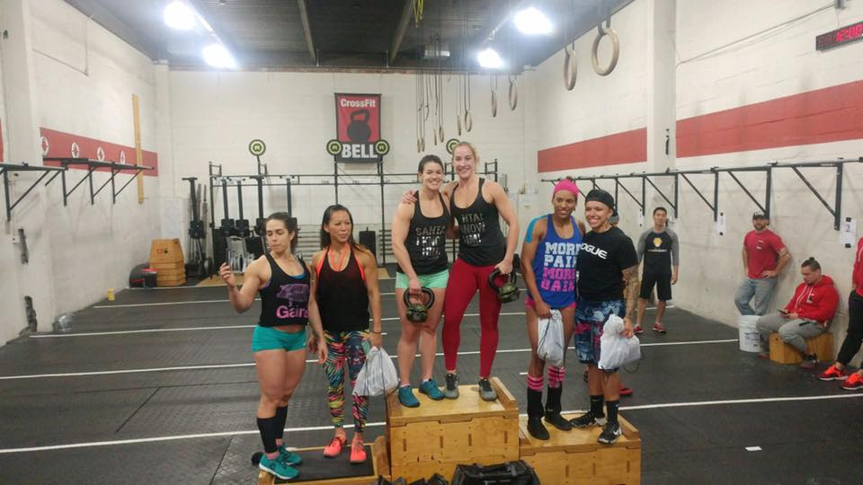 Congratulations to Donna & Julia on taking FIRST PLACE in the Battle of the Boroughs at CrossFit Bell on Sunday!
