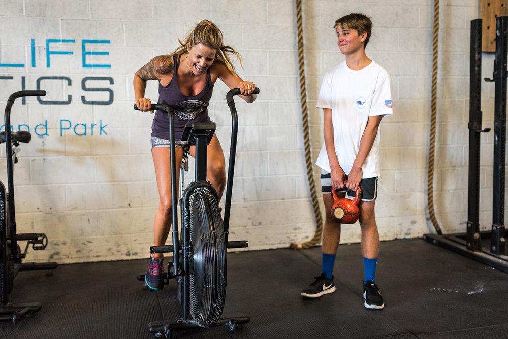 Athletes: Angela & Ben Skudin Photo: @supercleary