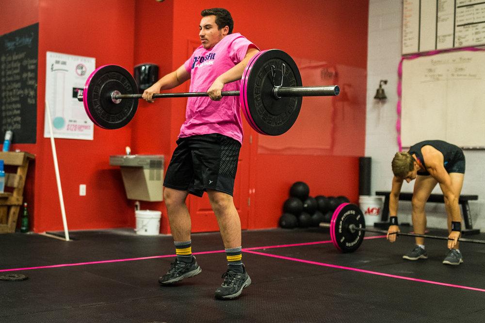 October 2018 Athlete of the Month - Matt Amato