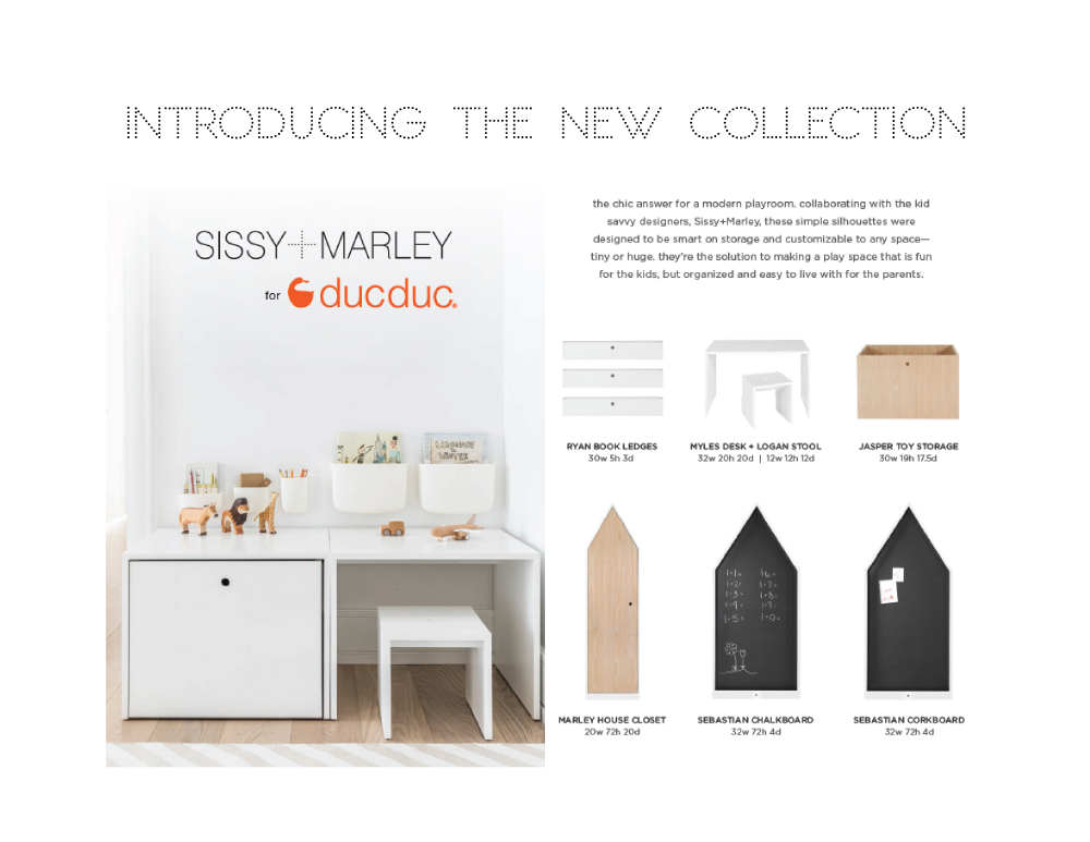 The chic answer for a modern playroom!    SISSYANDMARLEY   /  DUCDUC