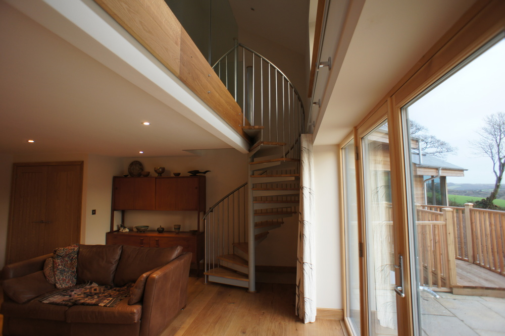 New Build Cornwall - Lounge