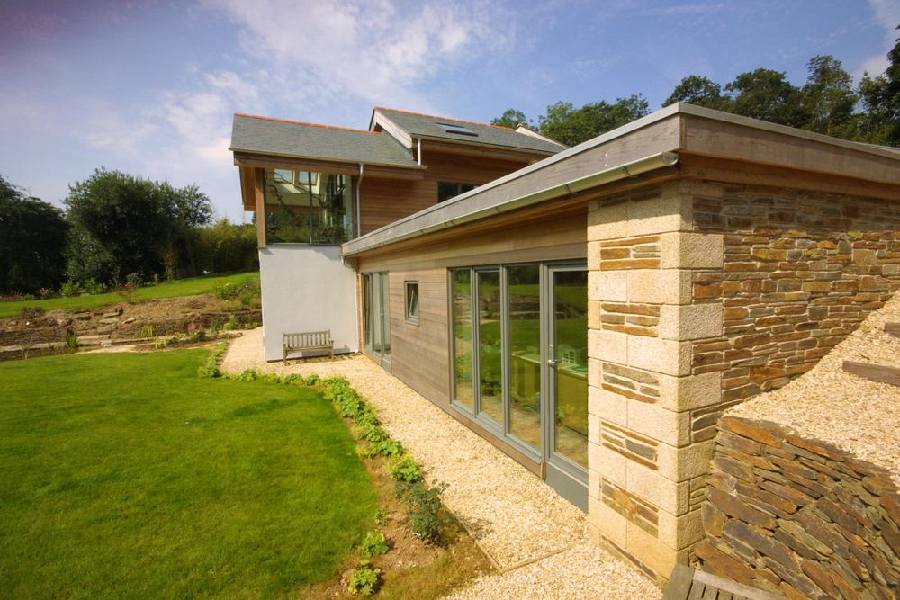 New Build Cornwall - Exterior