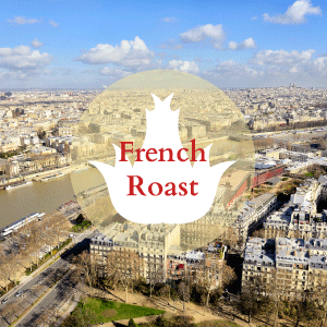 The darkest of our coffees, French Roast has a rich, deep, smoky flavor with low acidity.
