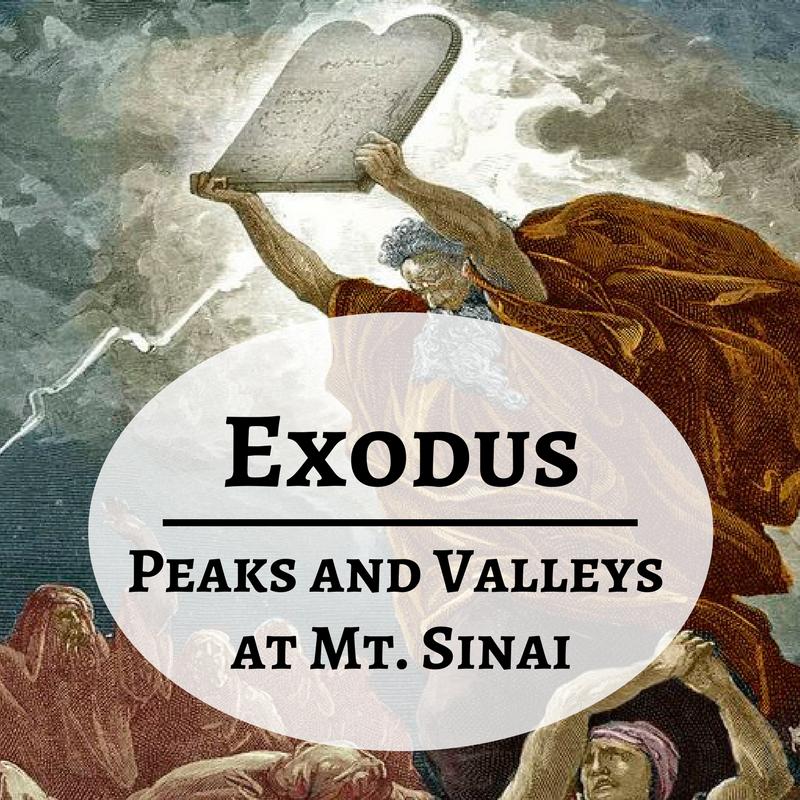 March 18 -- Exodus 32-33