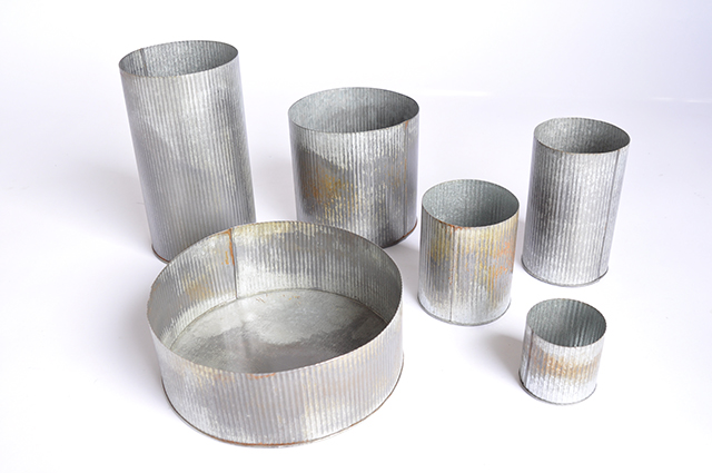 Corrugated Tin Collection