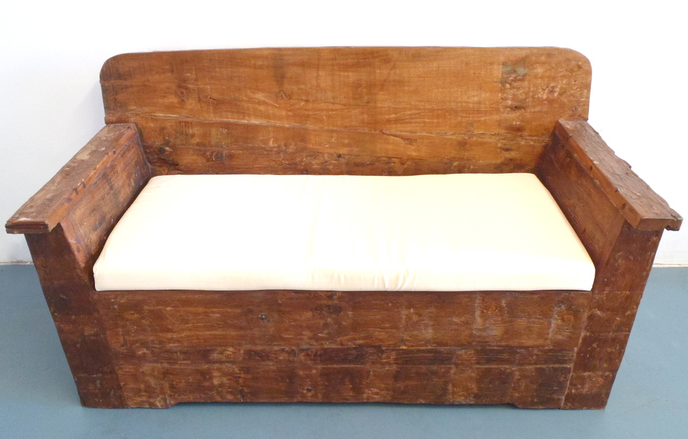 Reclaimed Love Seat