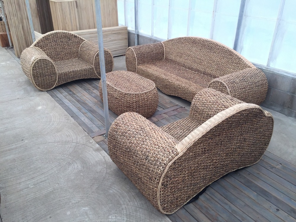 Woven Sofa Set