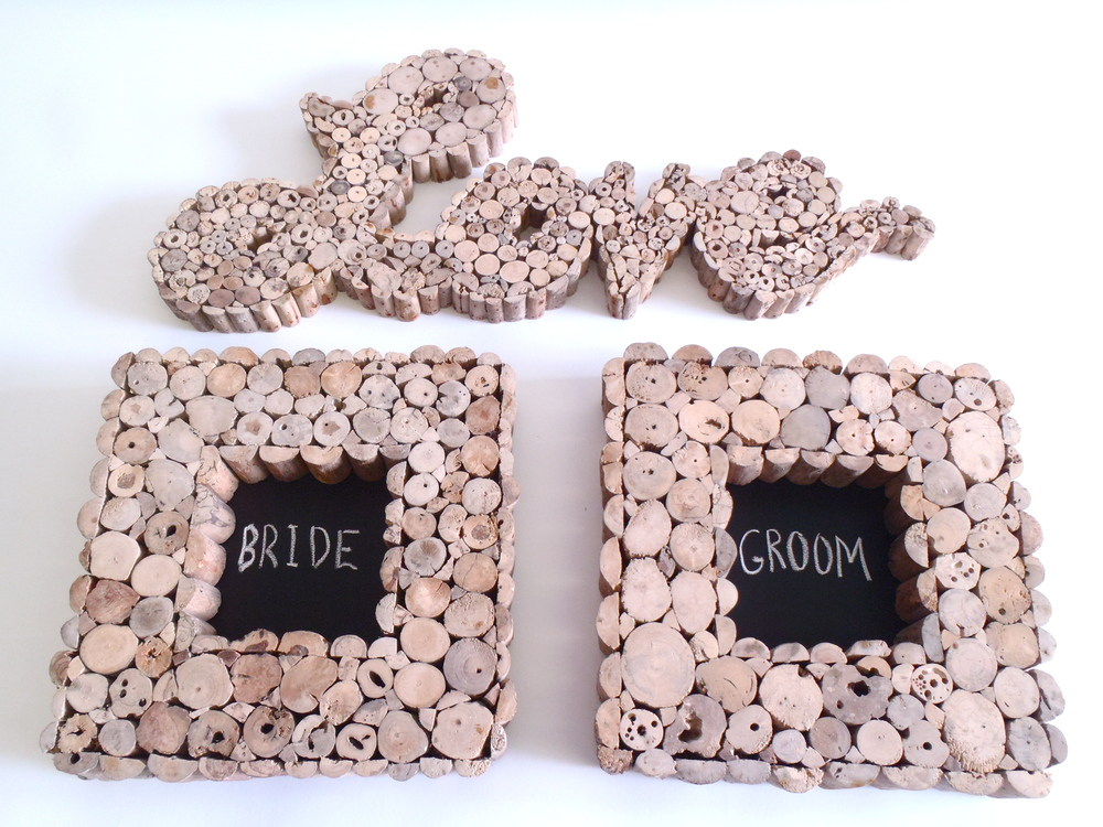 MINI COFFEE WOOD CHALKBOARDS