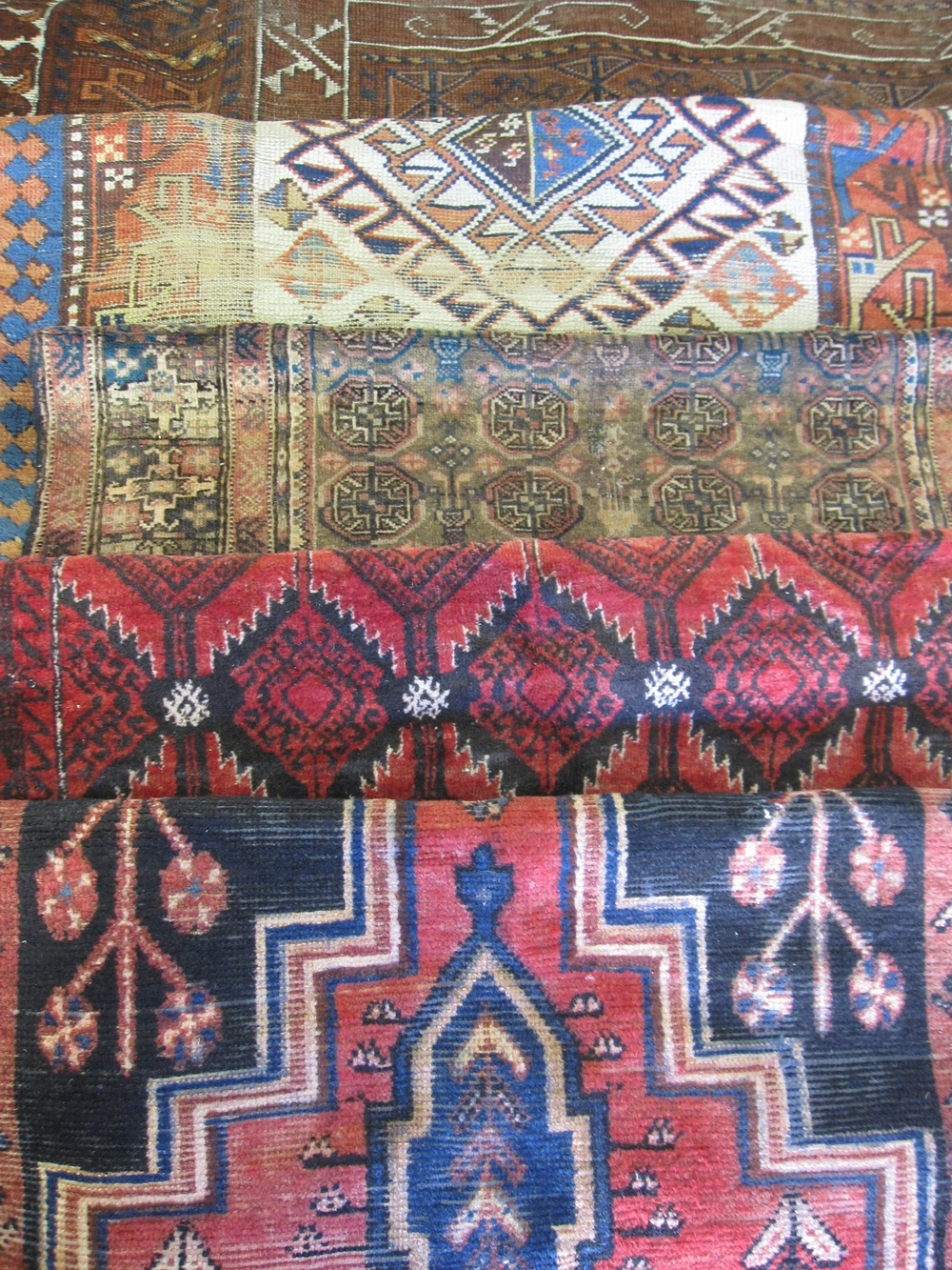 Assorted Sm Ethnic Rugs