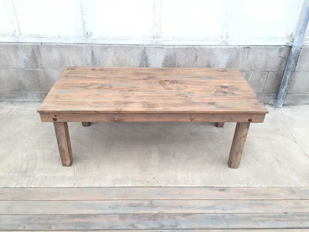 Small Weathered Coffee Table