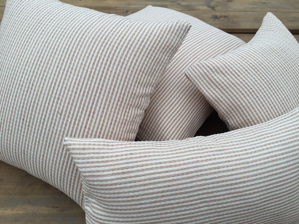 Striped Nude Pillows