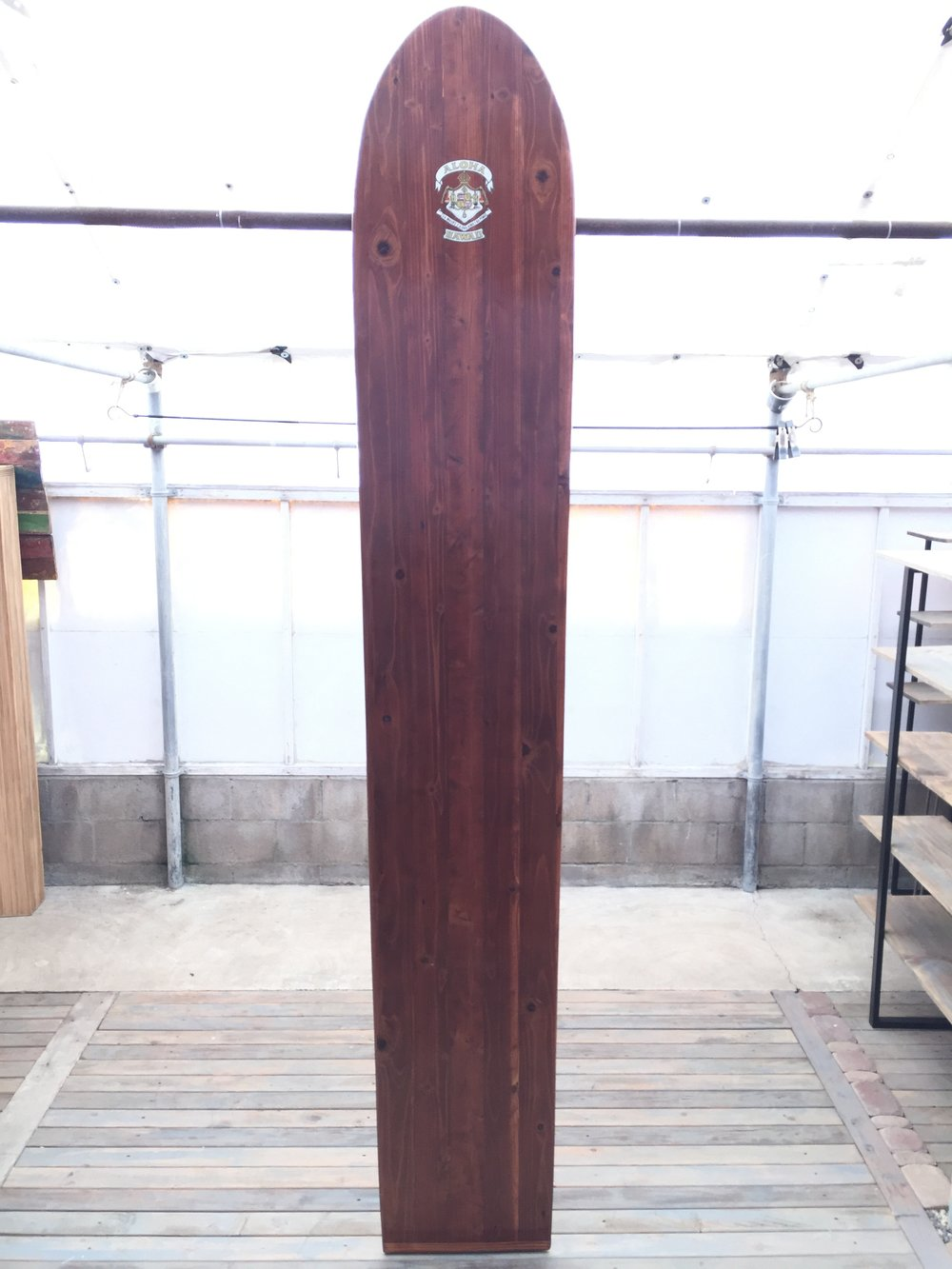 Hawaiian Redwood Surfboard