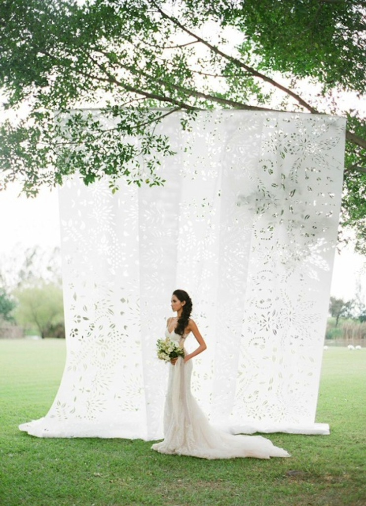 Custom Papel Picado Backdrop