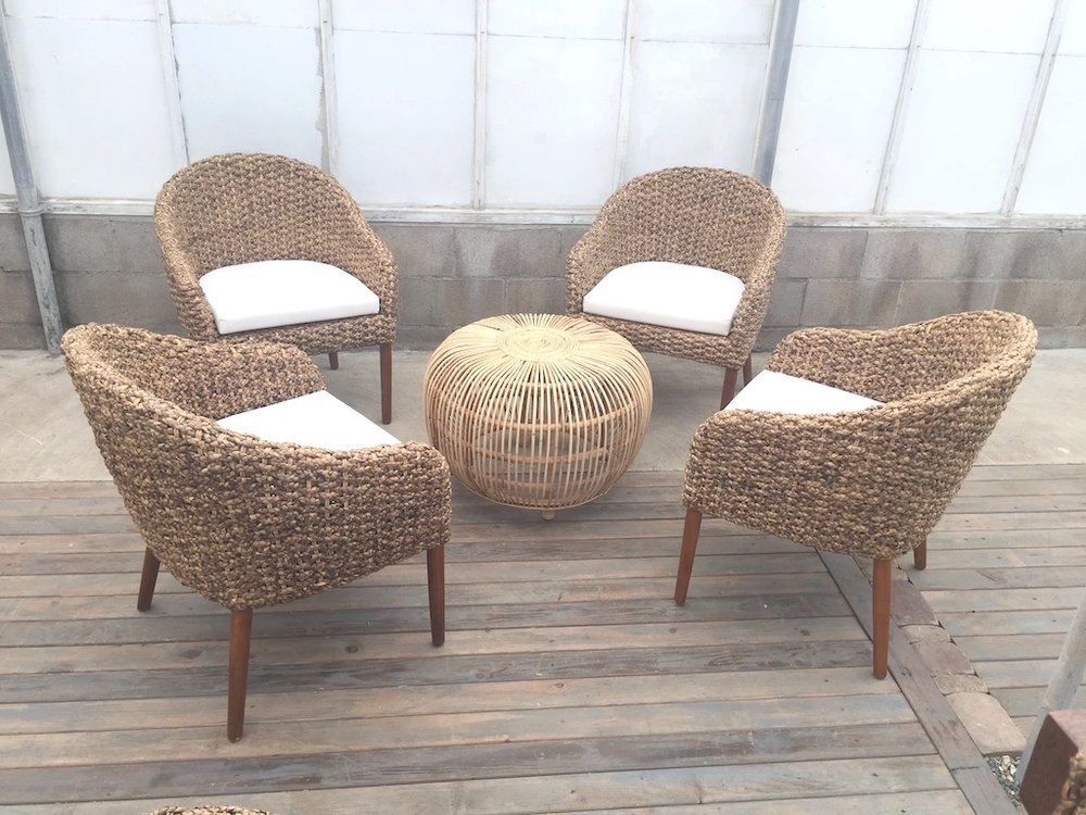 Woven Chair Grouping