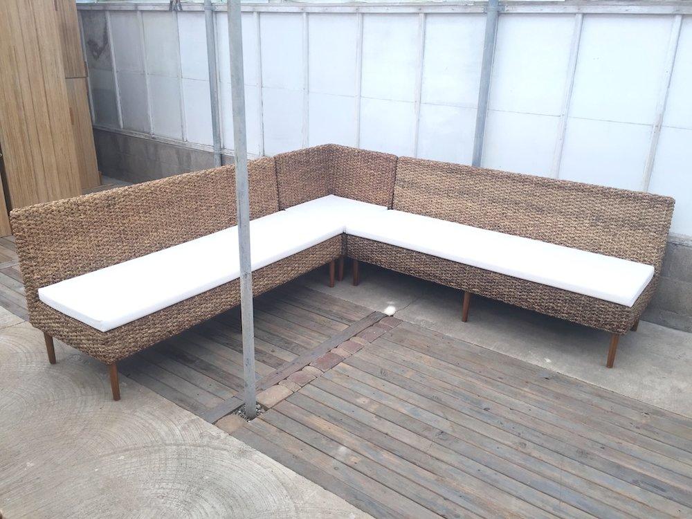 Woven Highback L Lounge