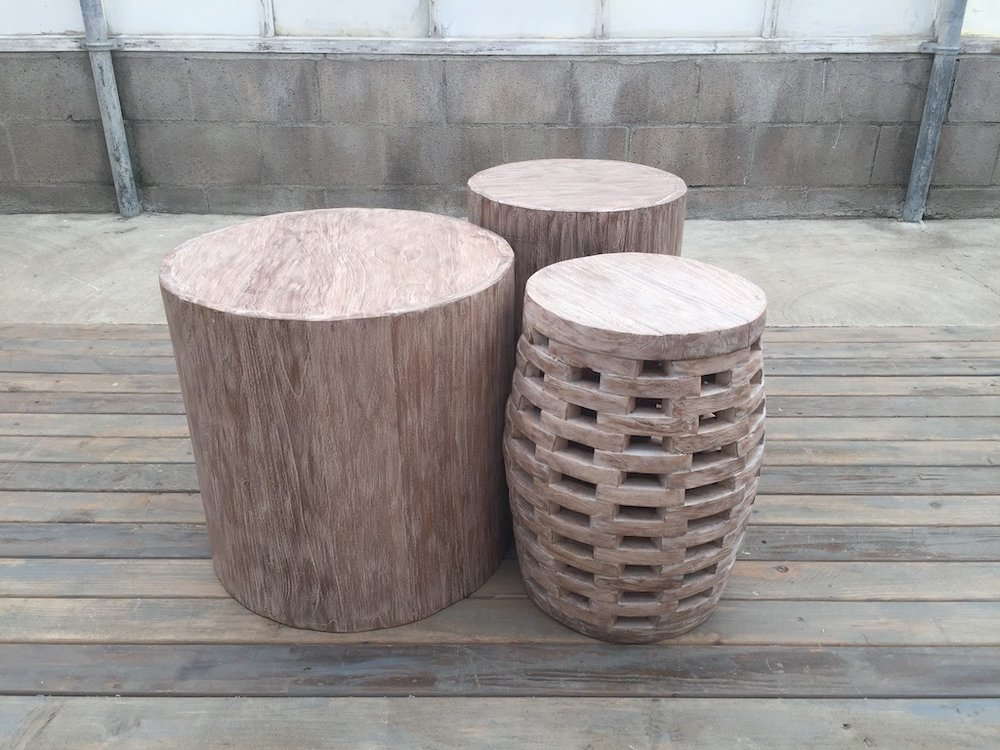WEATHERED TABLE TRIO