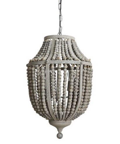 MD WASHED BEAD CHANDELIER