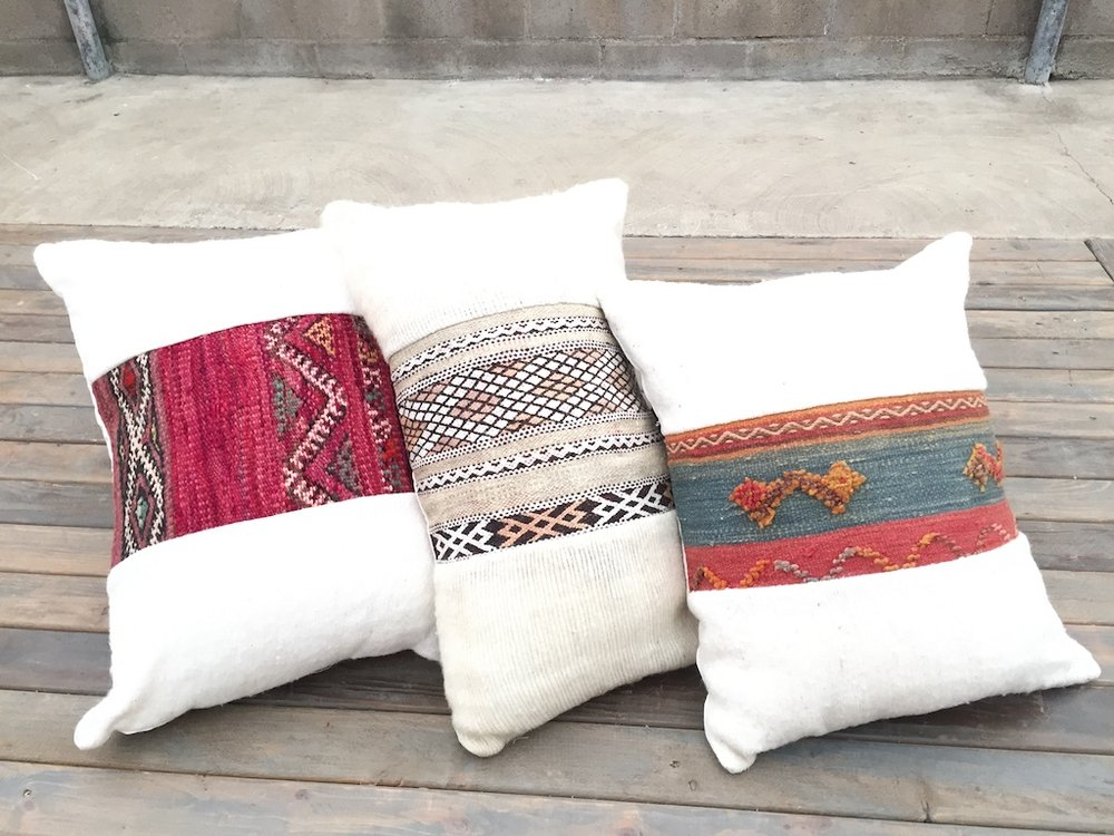 Assorted Atlas Pillows