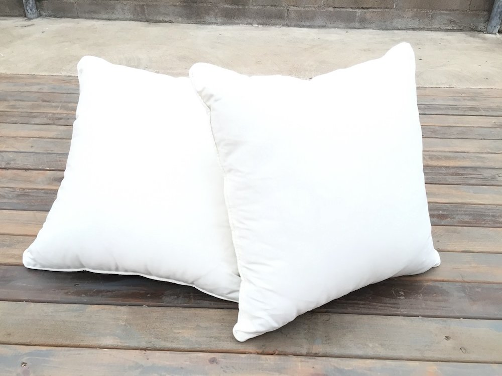 Simple White Pillow