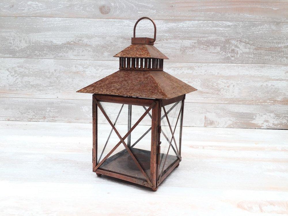 Rusted Barn Lantern