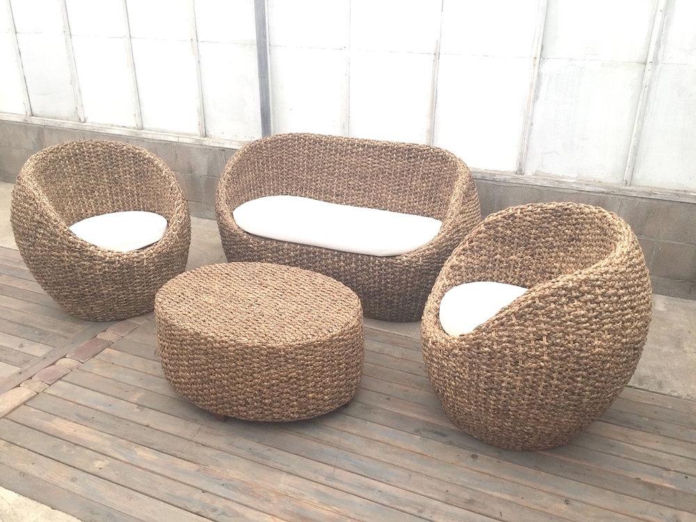 Woven Capsule Lounge set