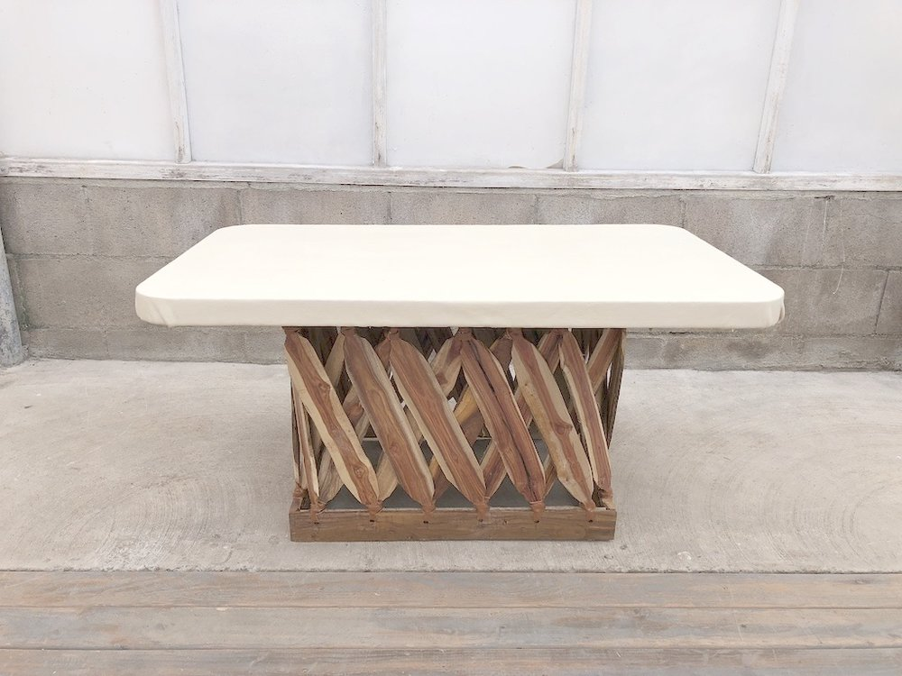 Equipales Ivory Table