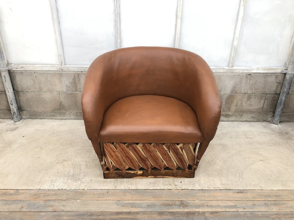 Tobacco Lounge Chair