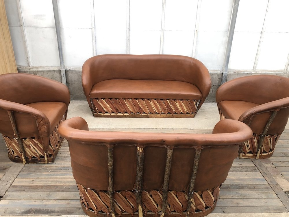 Tobacco Lounge Set - A