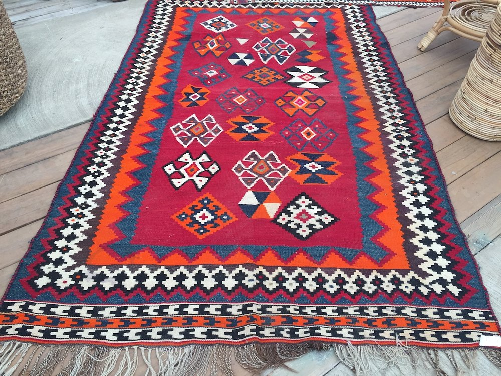 Red Tribal Rugs #2